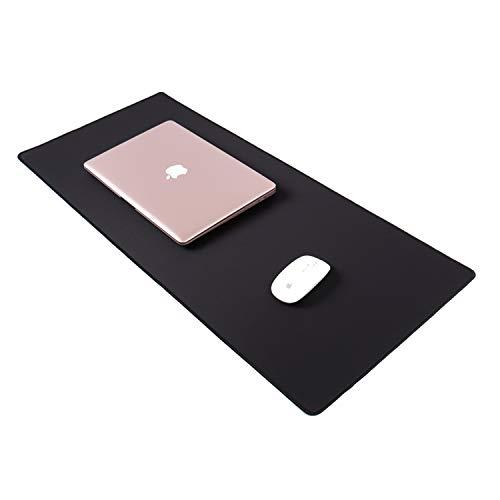 zanasta XXL Mauspad (800 x 300 mm) | Mousepad Schreibtischunterlage Anti-Rutsch Matte Groß, Schwarz