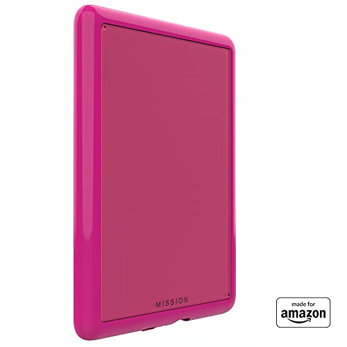 All New, Made For Amazon Clear Case, in Raspberry, with Screen Protector for Kindle Paperwhite (4th Generation, 2018 Release)