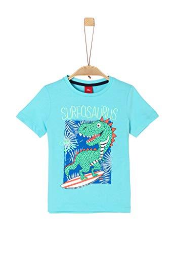 s.Oliver Junior Jungen Kurzarm T-Shirt, 6224, 128/134