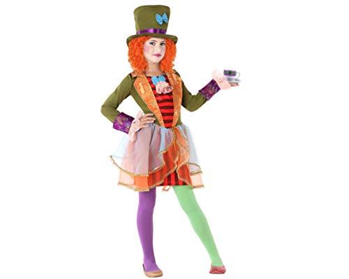 Atosa-61296 kostuum muts, 5-6, meisjes, 61296, meerkleurig, 5 tot 6 jaar