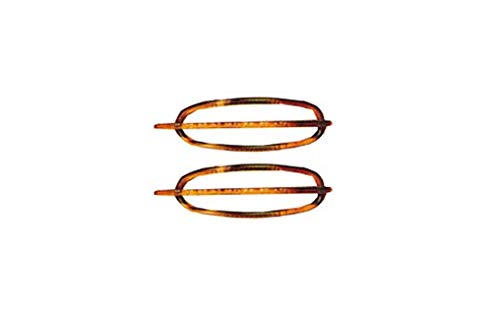 Efalock Acetat-Libellen Havanna 1 Paar 75mm