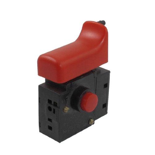 sourcing map AC 250V 4A Posición Fija Rojo Case Interruptor De Gatillo para Bosch 10RE Taladro Eléctrico