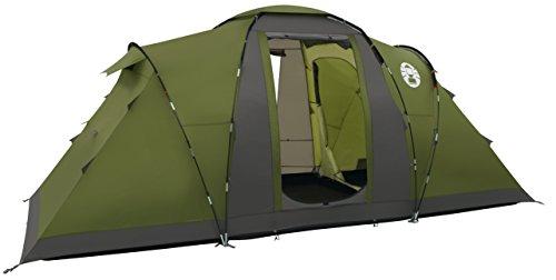 Coleman volwassenen familietent Bering 4 Tent, donkergroen, L