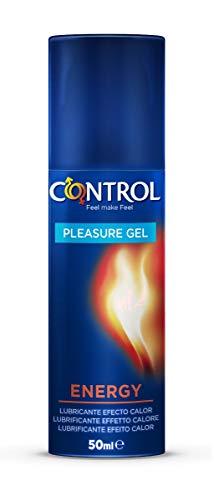 Control Pleasure Gel Energy Lubricante - 50 mililitros, lubricante