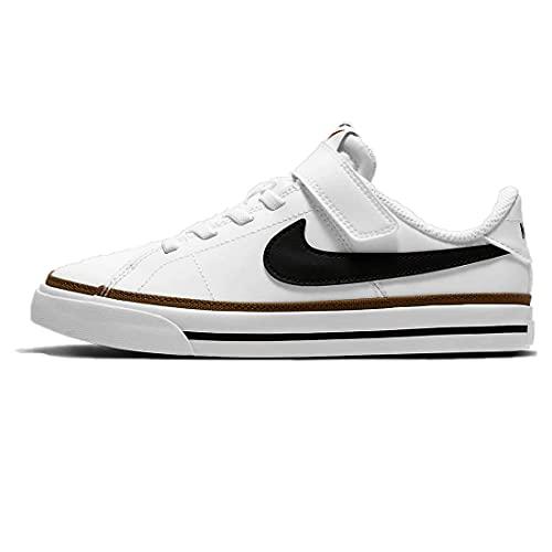 Nike Court Legacy, Scarpe da Ginnastica Unisex-Bambini, Bianco, 29.5 EU