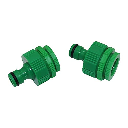 Tubo de PVC 4pcs estándar 1/2'3/4' 1' rosca hembra rápida Conectores del jardín del agua de la manguera interna Rosca adaptador del grifo Lavadora de montaje tubo (Diameter : As picture)