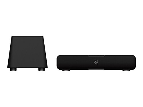 Razer Leviathan: Dolby 5.1 Suround Sound - Bluetooth aptX Technology - Dedicated Powerful Subwoofer for Deep Immersive Bass - PC Gaming and Music Sound Bar