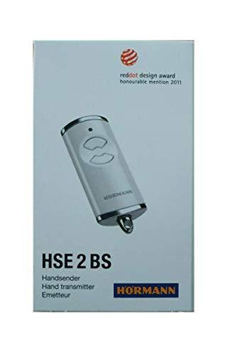HÖRMANN HSE2-868-BS weiß Fernbedienung 868,3Mhz BiSecur 2-Kanal Sender Top Qualität Original Hormann Fernbedienung zum besten Preis!!!