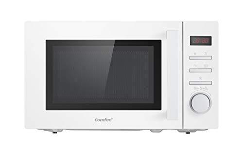Comfee CMSN 20di wh Mikrowelle / Solo-Mikrowelle mit Express-Funktion/ 8 voreingestellte Menüs/ Timer/Innenbeleuchtung/ LED-Digitalanzeige/20L / 700W /Weiß