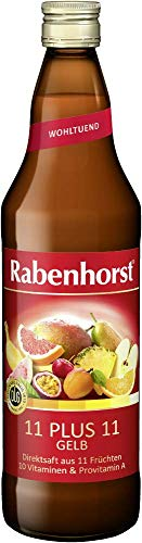 Rabenhorst 11 plus 11, gelb, 6er Pack (6 x 700 ml)