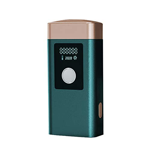 Epilieren Des Instruments Eispunkt Ifl Photonenthäuten Laser Epilator Mini Home Body Epilierer Dunkelgrün