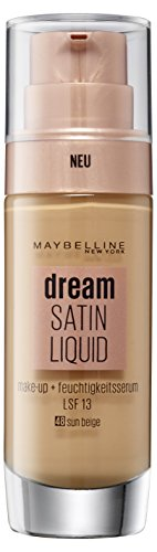 Maybelline New York Dream Satin Liquid Make-Up, Nr. 48 Sun Beige