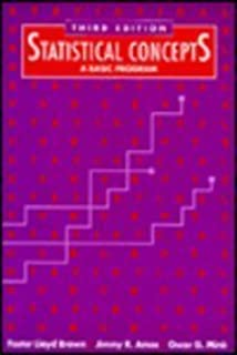 Statistical Concepts: A Basic Program (3rd Edition)