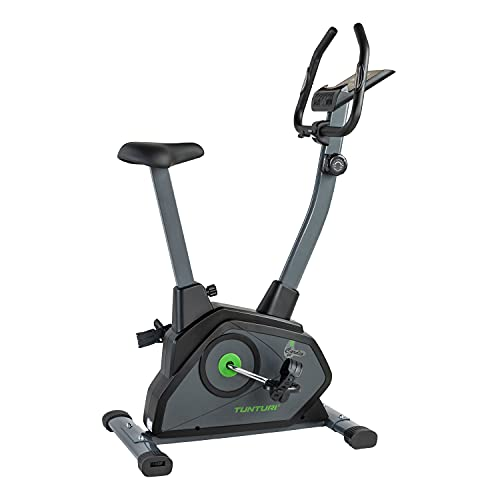 Tunturi Cardio Fit B35 Bicicleta estatica / bici estatica / bicicleta fija / con computadora de Entrenamiento y medidor de pulso