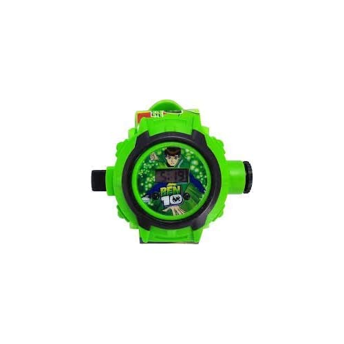 RVold BEN 10 OMNIVERSE AUTOMATIC PROJECTOR 24 CRIDS NO.ZL8524B - Best Digital Toy Watch for Boys