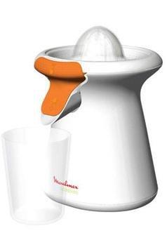 Moulinex Accessimo PC105131 Zitruspresse, 40W, direkter Saftausguss, Tropfstopp-System, Weiß