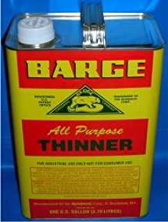Original Barge All Purpose Cement Thinnner by Quabaug Corp -1 Gallon-