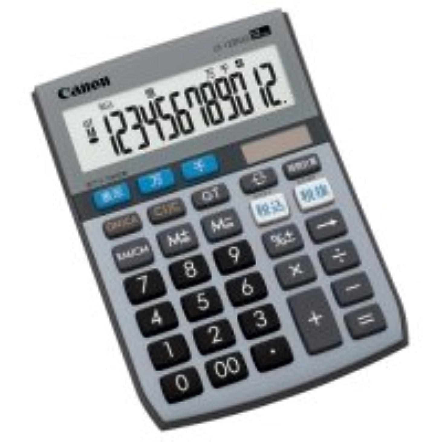 シーボード平和代理店CANON 電卓 千万単位シリーズ LS?122TUG 12桁 ミニ卓上タイプ 1台