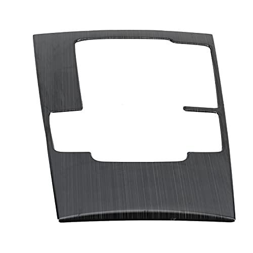 Fydun Moldura del Panel de Engranajes de la Consola Central, Repuesto de Mantenimiento de Acero Inoxidable para automóvil para 3 2019-2021 RHD