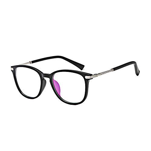 BOZEVON Gafas Falsas para Mujeres Hombres - Gafas de Sol Sin...