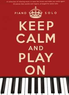 Houd kalm en play op - gearrangeerd voor piano [noten/Sheetmusic]