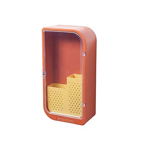 Portacuchillos cocina Cocina Multifuncional Chopstick Holder Drenaje Rack Caja de almacenamiento Hogar Montado en la pared Soporte de cuchillo Cesta de palillos Punzón libre Bloque cuchillos vacío