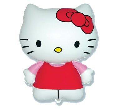 Globo Hello Kitty Fucsia Mini Forma