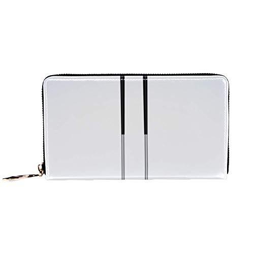 XCNGG Damen Reißverschluss um Brieftasche und Telefonkupplung, Golfschläger drucken, Reisetasche Leder Clutch Tasche Kartenhalter Organizer Wristlets Brieftaschen