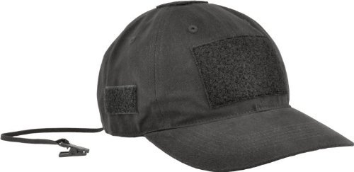 HAZARD 4 PMC(TM) Modular Velcro Patch Tactical Ball Cap (R) - Black