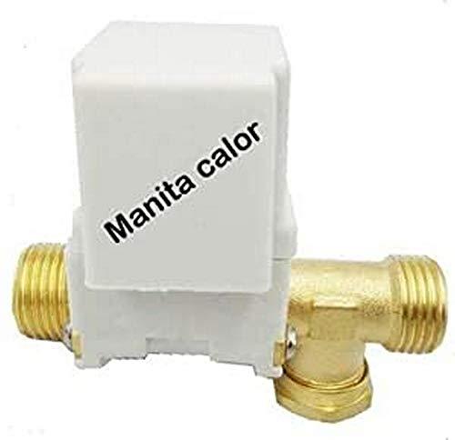 Manita Calor Elettrovalvola Ø 1 2  per centralina TK8 Ricambio Universale per Pannello Solare Termico
