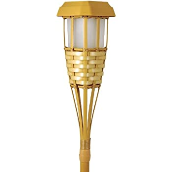 Marlrin 91206 FQWQ-071, Waterproof Flickering Solar Torches Dancing Flames Landscape USB Charging Decoration Dusk to Dawn Outdoor Security Path Light for Garden Patio Yard Drivewa, Golden