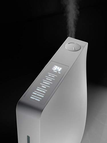 LEONIS - Humidificador ultrasónico (70 m2/150 m3/32 dB(A)