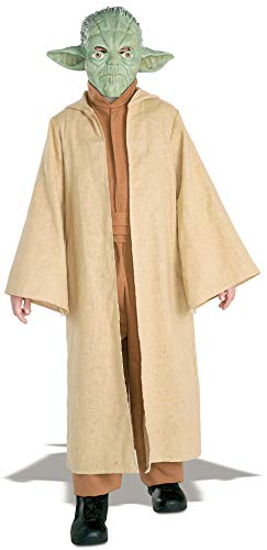 Rubie's Costume Star Wars Episode 3 Child's Deluxe Yoda Costume, Large