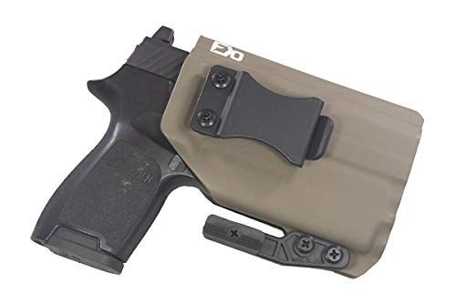 FDO Industries IWB Kydex Holster Compatible with Sig P320c...