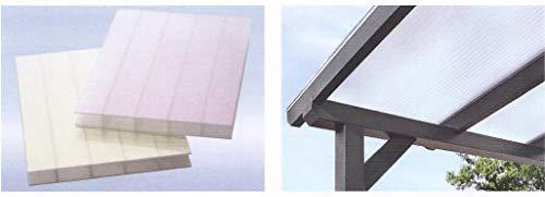 Acryl Doppelstegplatten 16 mm - HIGHLUX - Sunstop opal - Zweifachsteg - Breite: 980 mm (Euro 53,50/qm)