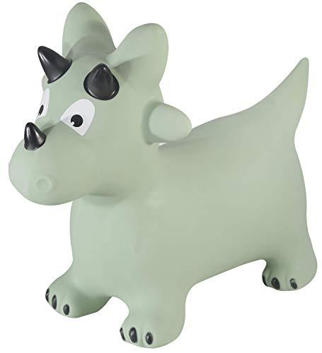 Kindsgut Animal para Saltar, Animal de Salto, Saltar, Dino, brincar, para Bebes & niño pequeño, Inflable, con inflador, Unisex, ecológico Libre de contaminantes
