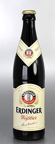 Bierflaschenkerze/Kerze Bierflasche Erdinger Weißbier - 2010 - Bayerische Geschenke - Bayrische Kerze