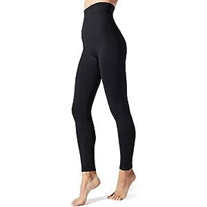 BLANQI Everyday Highwaist Postpartum + Nursing Support Leggings (Large) Black
