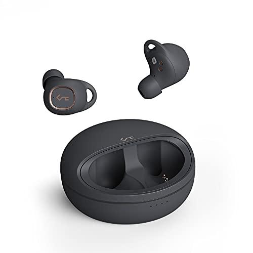 Aipower EP-T10 Auriculares Bluetooth 5.0 Auriculares Inalámbricos, con Micrófono y Control Táctil, 24 Horas de Reproducción, IPX5 Impermeable, In-Ear Auriculares Bluetooth Deportivos