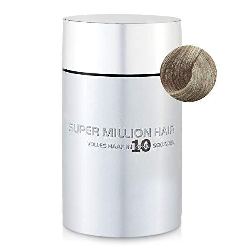 Super Million Hair Haar Fasern und Schütthaar, hochwertiges Streuhaar zur Haarverdichtung, 25 g, Ash-Blond (5)
