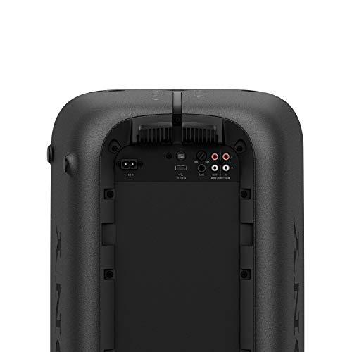 Sony GTK-XB72 High PowerParty Lautsprecher (Bluetooth, NFC, One Box Hifi Music System, Extra Bass, Lichtleiste, Lautsprecherbeleuchtung, Stroboskoplicht) schwarz - 11