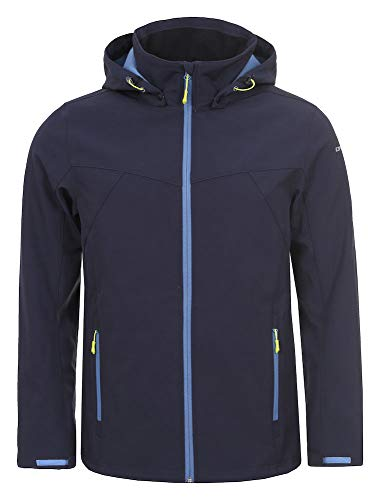 Icepeak Lukas Veste Homme, Bleu, FR : XL (Taille Fabricant : 54)