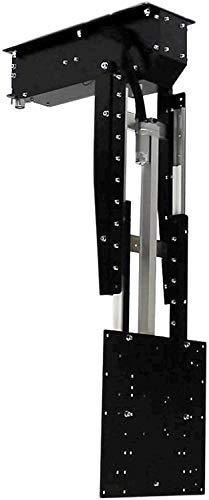 push MAXI-Tele - Soporte de techo para televisores de hasta 65 pulgadas (hasta 28 kg, VESA de hasta 400 x 400 mm)