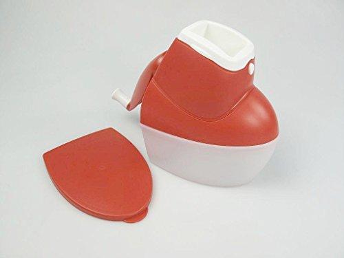 TUPPERWARE Chef Mahl-Chef D126 P 20779 - Rallador de queso, color rojo y blanco
