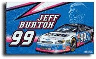 Jeff Burton - 3' x 5' Nascar Flag