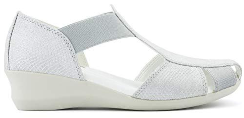 FLEXX New MR W Sandalen, Weiß - weiß - Größe: 40 EU