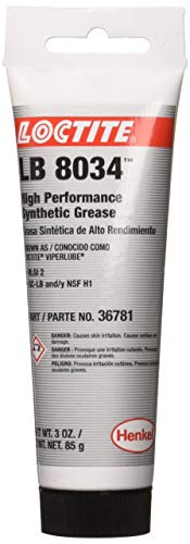 Loctite LB 8034 ViperLube High Performance Synthetic Grease Tube, 3-oz.