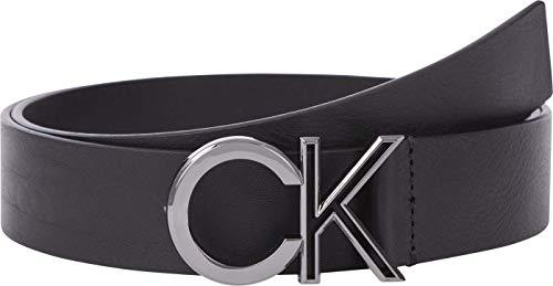 Calvin Klein Outline 35mm Cintura, CK Nero, 105 Uomo