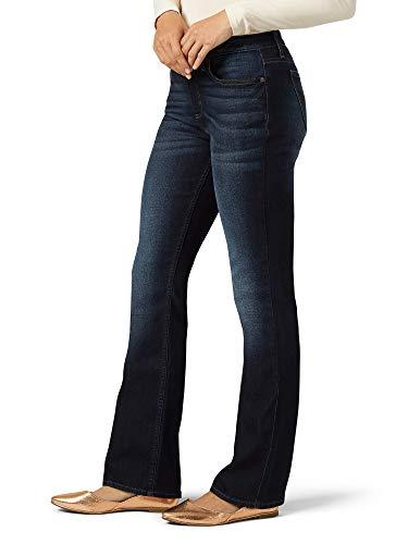 LEE - Pantalones vaqueros para mujer con corte de botas y bolsillo oculto - Azul - 12 US