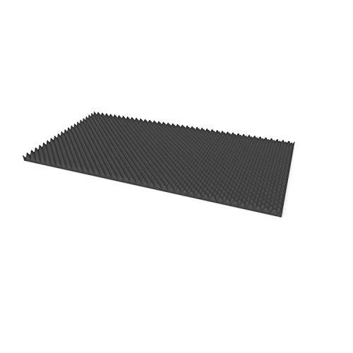 PolySound Noppenschaumstoff (ca. 200 x 100 x 5cm) für Premium Akustik oder Schalldämmung und Akustikverbesserung